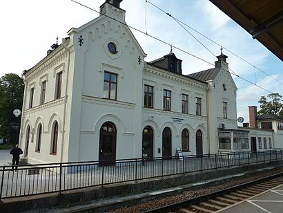 How to get to Enköping Station with public transit - About the place