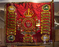 Enniskillen Cathedral of St. Macartin Regimental Colours Fifth Royal Inniskilling Dragoon Guards 2012 09 17.jpg