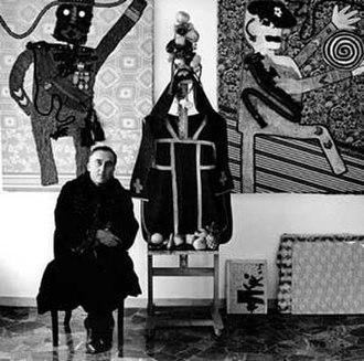 Enrico Baj - Image: Enrico Baj (1964) by Erling Mandelmann