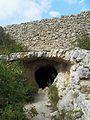 Entrada a la cova del Moro, la Vall de Gallinera.JPG