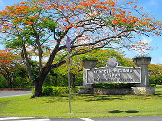 Saipan International Airport airport on Saipan, Northern Mariana Islands