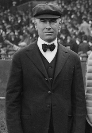 Ernest C. Quigley - Quigley umpiring at the 1916 World Series