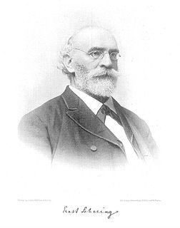Ernst Christian Julius Schering German mathematician