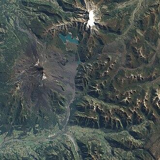 Llaima - Image: Eruption from Llaima Volcano, Chile