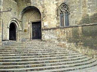 Palau Reial Major - Image: Escales del Palau Reial