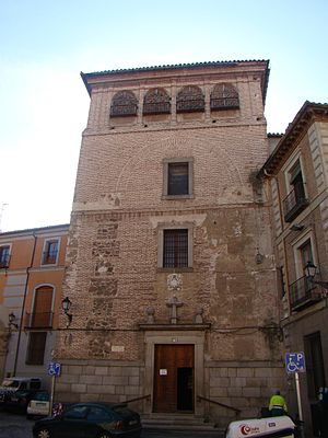 Convento de las Agustinas Calzadas, Toledo - Main facade of the church of the convento de las Agustinas.
