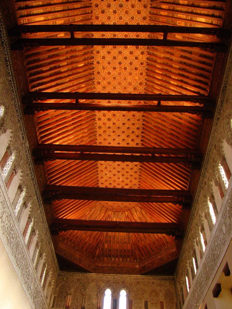 File:España - Toledo - Sinagoga del Tránsito - Techo.JPG - Wikimedia Commons