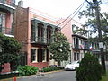 Esplanade Ave FQ Sept O9 Metal Balconies.JPG