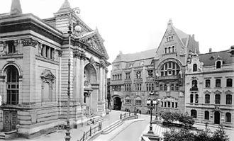 Grillo-Theater - Image: Essen Stadttheater um 1910