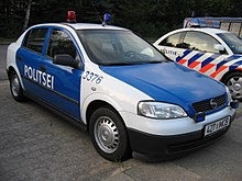 Estonian police car, September 2003.jpg