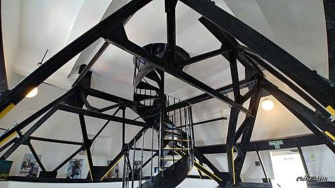 Estructura de acero del mirador de la Galería Güemes.jpg