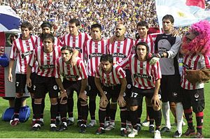 Estudiantes de La Plata - The team that won the 2006 Apertura defeating Boca Juniors in the final.