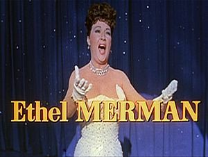 1954 in music - Ethel Merman sings the title number of the 1954 film There's No Business Like Show Business.