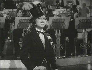 Screenshot of Ethel Merman from the trailer fo...