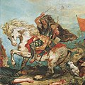 Eugene Ferdinand Victor Delacroix Attila fragment (cropped larger).jpg