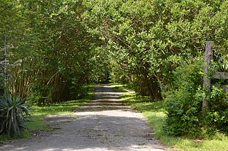 Evergreen (Hopewell, Virginia) - Entrance to the property