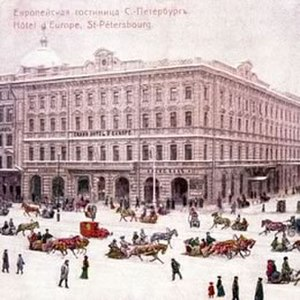 Grand Hotel Europe - The hotel is situated at the intersection of Nevsky Prospekt and Mikhailovskaya Street.