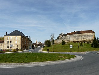 Excideuil - Château d'Excideuil (right)