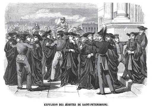 Exile of the Jesuits from Russia (Geoffroy, 1845)