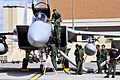F-15J (933) of 303 Sqn undergoes maintenance at Eielson Air Force Base during Red Flag-Alaska 11-2, -14 Jul. 2011 a.jpg