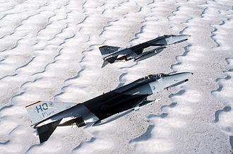 McDonnell Douglas F-4 Phantom II non-U.S. operators - A German F-4E used for training at Holloman Air Force Base, 1992.