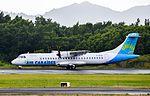 F-OIJK - Air Caraibes - AT72 - TFFF - Alignement (23670167883).jpg