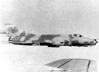 Peruvian Air Force - Peruvian Su-22 in 1982