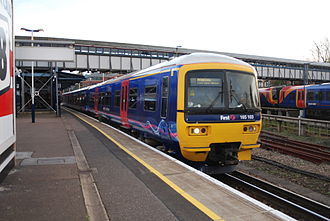 North Downs Line - First Great Western Class 165 at Guildford station