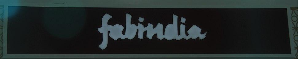 Fabindia signage and logo
