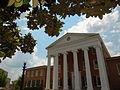 Facade of Lyceum Building - University of Mississippi - Oxford - Mississippi - USA - 02.jpg