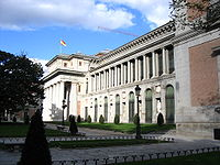 Museo del Prado, the world's largest collection of paintings.