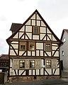 Fachwerk Doppelwohnhaus von 1744 und 1809 einer Hofanlage - Meinhard-Grebendorf Kirchstraße 29 - panoramio.jpg