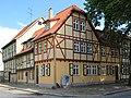 Fachwerkhäuser in Altstadt Qudlinburg. IMG 1080WI.jpg