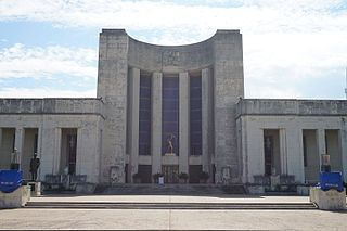 Hall of State building in Fair Park