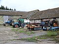 Farm buildings at Manor Farm, Baverstock - geograph.org.uk - 920410.jpg