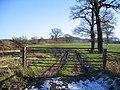 Farmland Gate off Dark Lane - geograph.org.uk - 335311.jpg