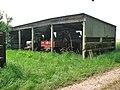 Farmshed by bridleway - geograph.org.uk - 813031.jpg