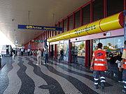 Departures terminal at Faro Airport