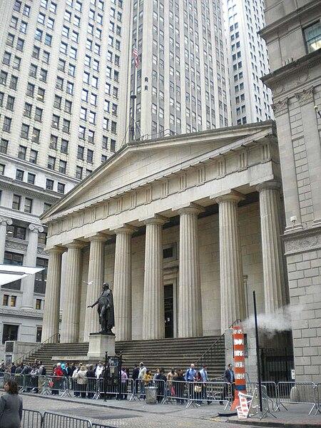 File:Federal Hall 2011 New York City.jpg