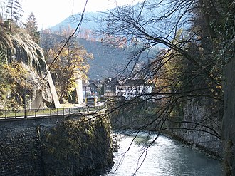 Battle of Feldkirch - Image: Feldkirch Untere Illschlucht