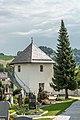 Feldkirchen Kirchgasse Friedhof ehem. Wehrturm Urnenhalle 02082018 6114.jpg