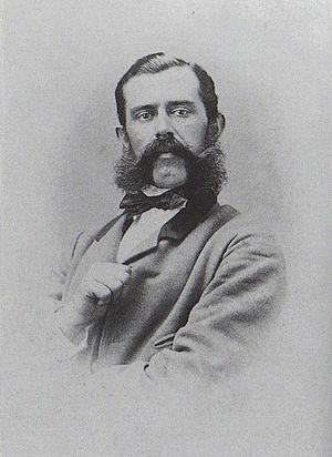 Felix Philipp Kanitz - Photography from ca. 1865.