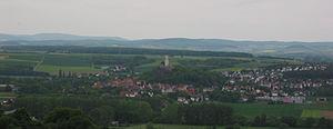 Felsberg, Hesse - Panorama of Felsberg