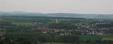 Panorama of Felsberg