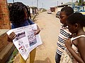 Female Project Officer creating awareness on drowning in Ghana.jpg
