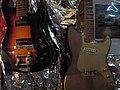 Fender Musicmaster (50's) & unknown vintage guitar.jpg