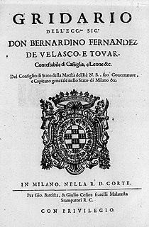 Spanish governor of Milan
