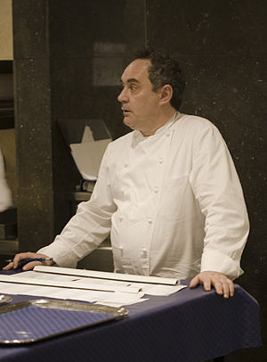 Ferran Adrià is the head chef of El Bulli.