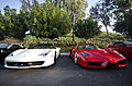 Ferrari 458 Italia and Enzo (7742200332).jpg