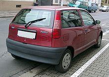 Fiat Punto rear 20071204.jpg